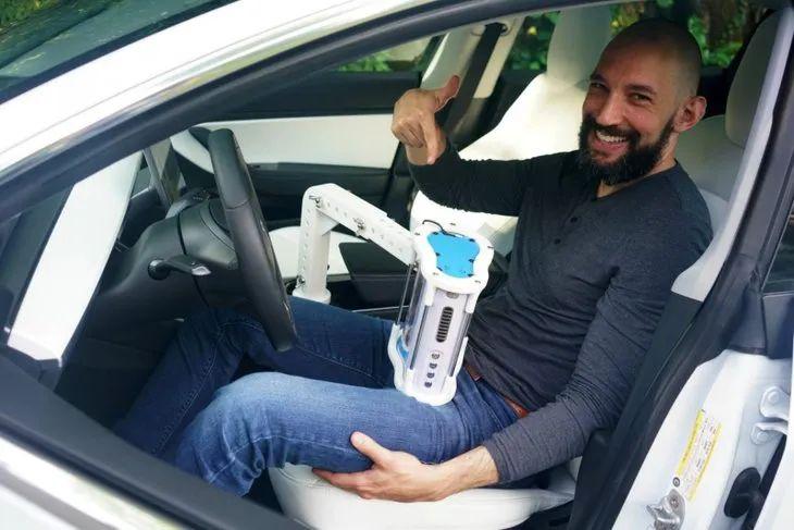 【黑科技】特斯拉專屬《自駕飛機杯》老司機舉起你的雙手!