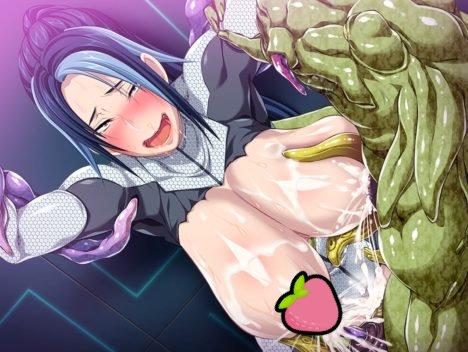18禁遊戲《巨乳傭兵被觸手強制交配》,這熟悉的異種姦套路!