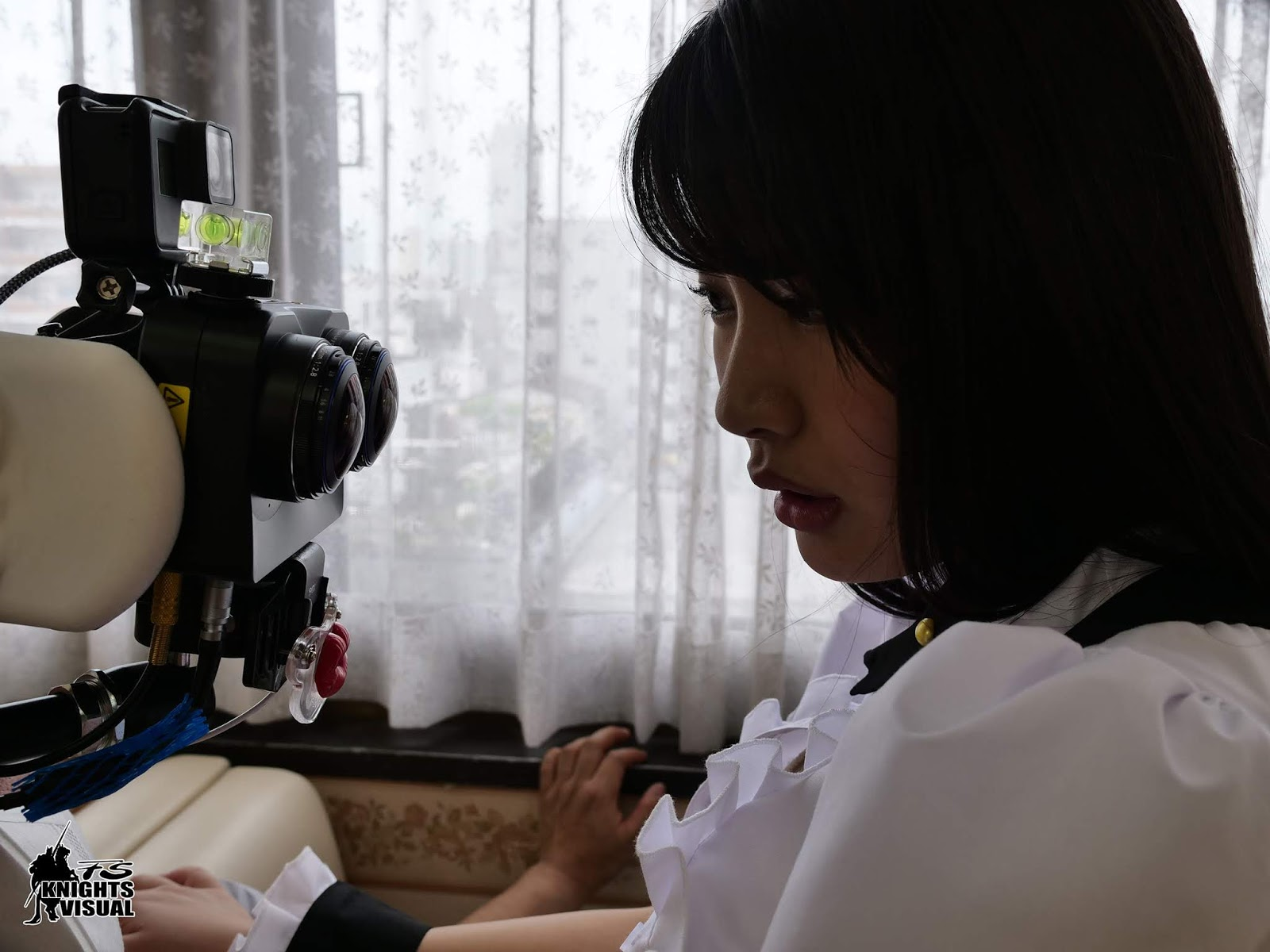 水谷葵《VR拍攝現場公開》考驗女優演技也考驗男優定力!