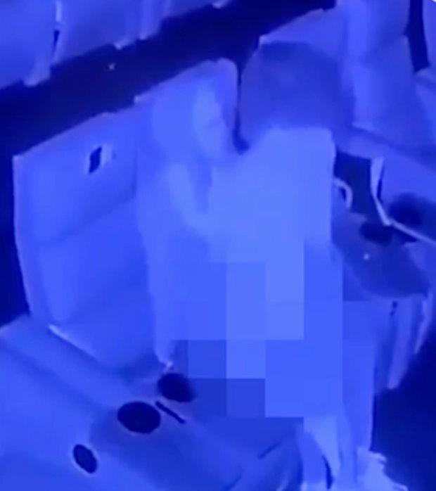 【影片】英國電影院活春宮「騎乘位扭動33秒」紅外線監視器全都錄!