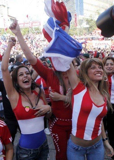世界盃經典回顧《瘋狂球迷露點篇》,給你滿滿的奶子!