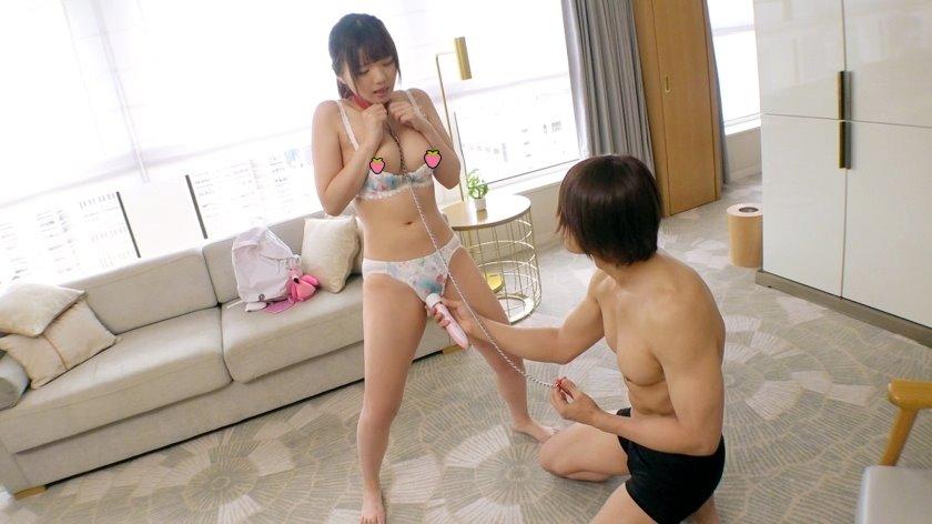 【素人】F奶清純妹戴狗鍊「小母狗化」,只想被主人命令跪地求幹!