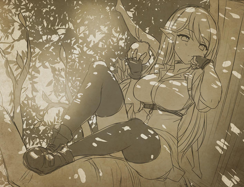 國產18禁RPG《蒼色之光與魔劍鍛造師》勇闖迷宮承受妹子的逆推!