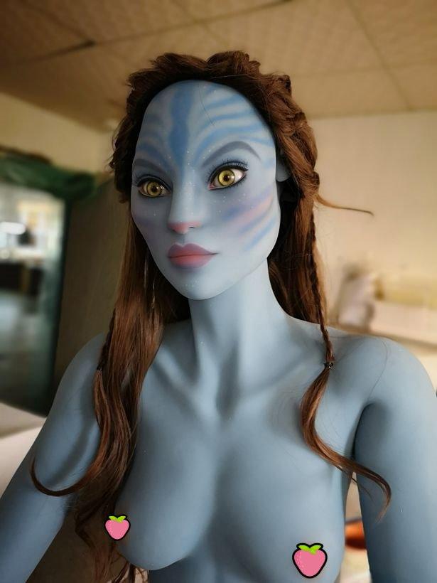 阿凡達成真?《納美人性愛娃娃》普通人給不了滿足只好啪外星人!