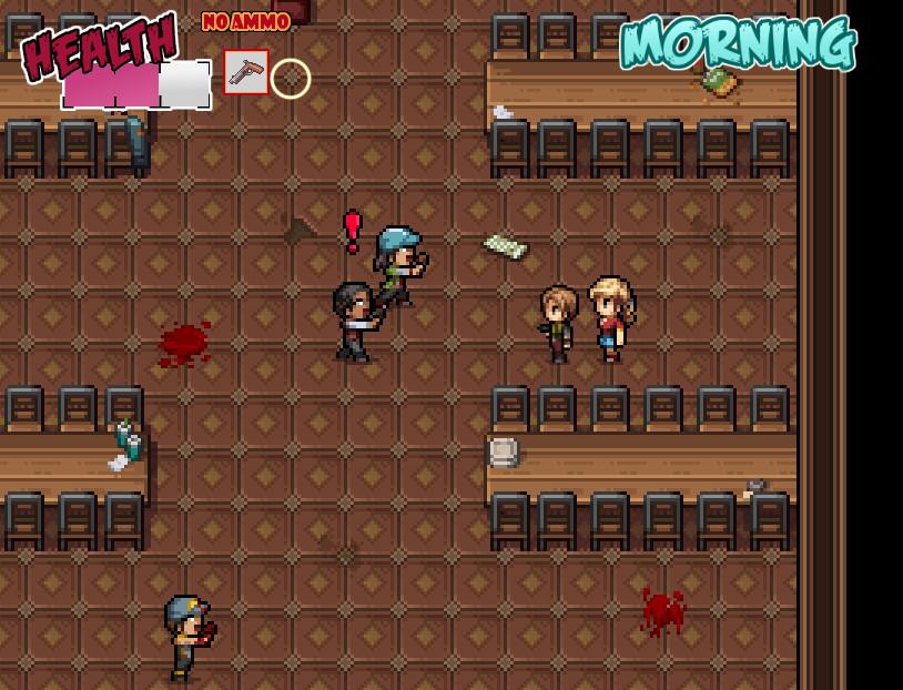 18禁動作RPG《Zombie's retreat》上架Steam!殭屍末日開發巨乳後宮!