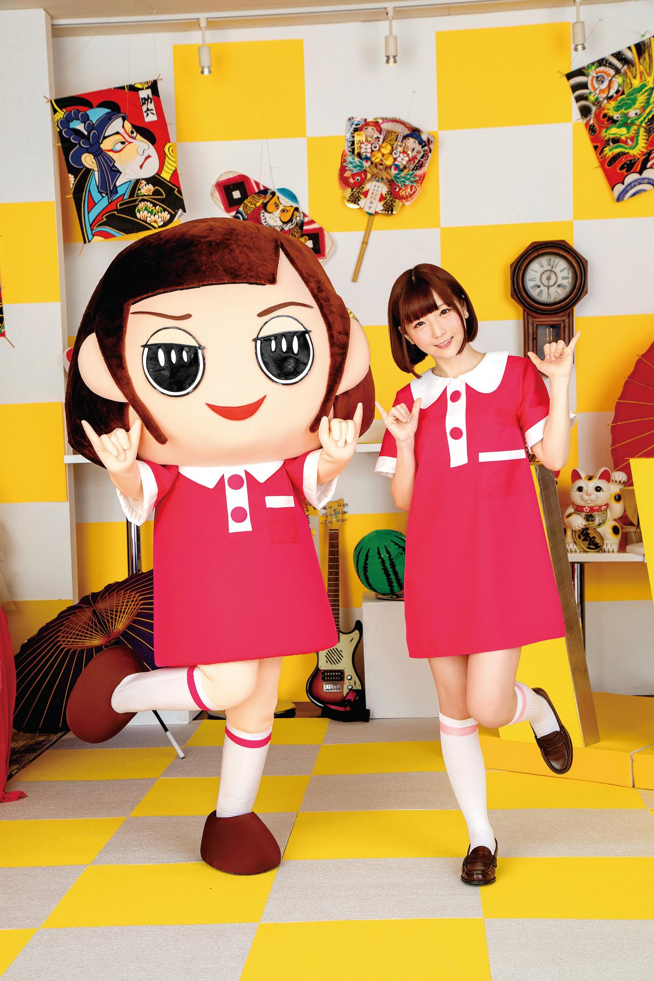 節目吉祥物AV版《恥骨醬》18禁冷知識交給「佐倉絆」的身體來解答!