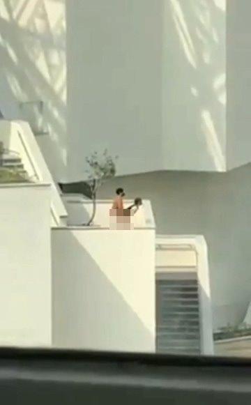 【影片】台南美術館外「老漢推車」遭偷拍!大白天這樣好嗎?