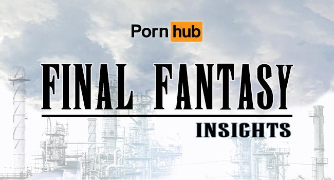 Pornhub《FF7 Remake》熱搜爆增7631%!繪師都想重製十年前「蒂法」本!