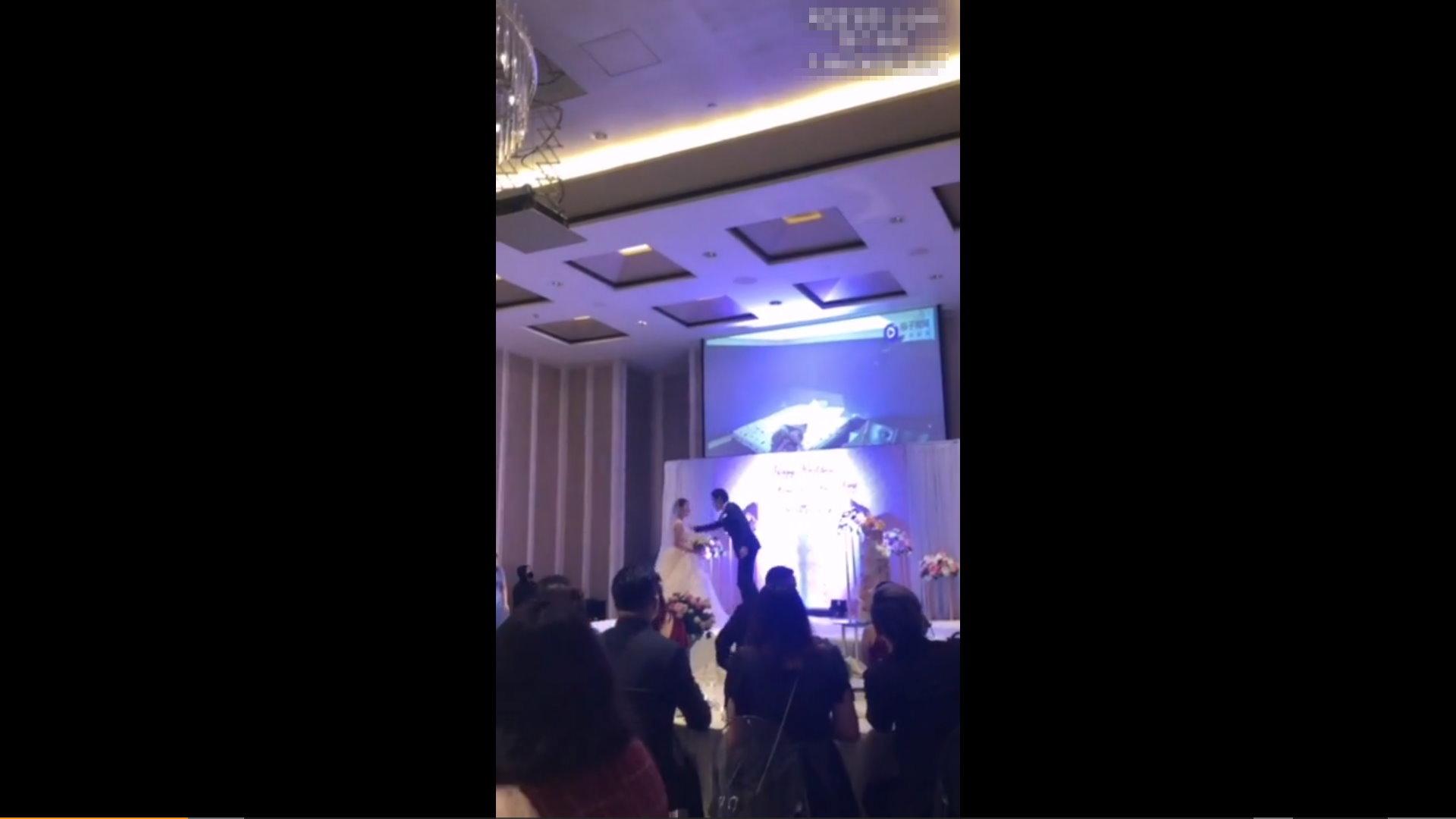 【影片】婚禮放送《新娘偷吃姊夫床戰片》綠帽新郎復仇:「我就讓你賤一輩子!」
