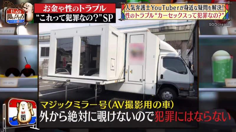 魔鏡號拍AV「車上啪啪啪」犯法嗎?律師Youtuber解答:看不到就行!