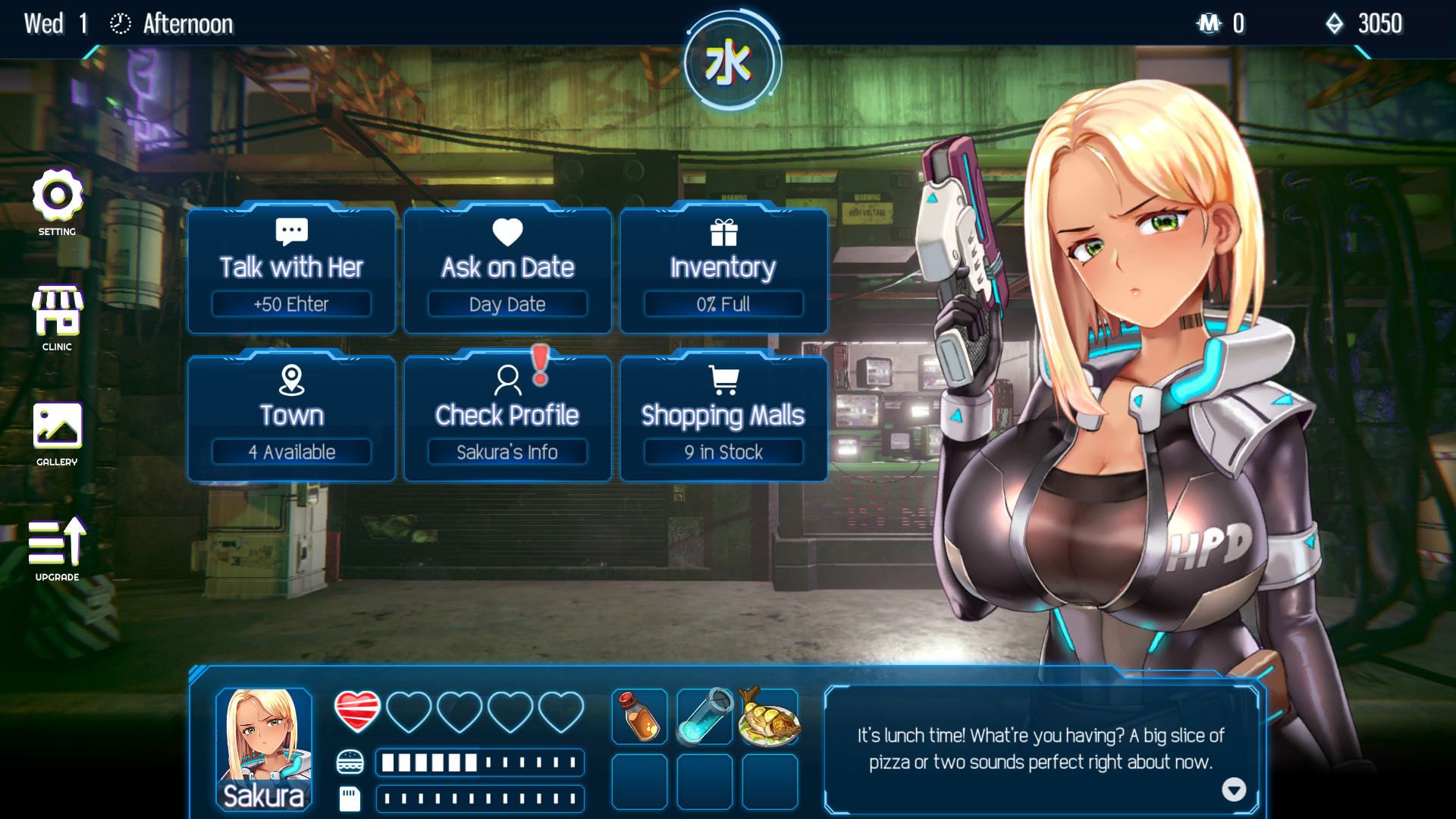 18禁小品《Cyber Crush 2069》Steam銅板價上架!R18 DLC免費提供!