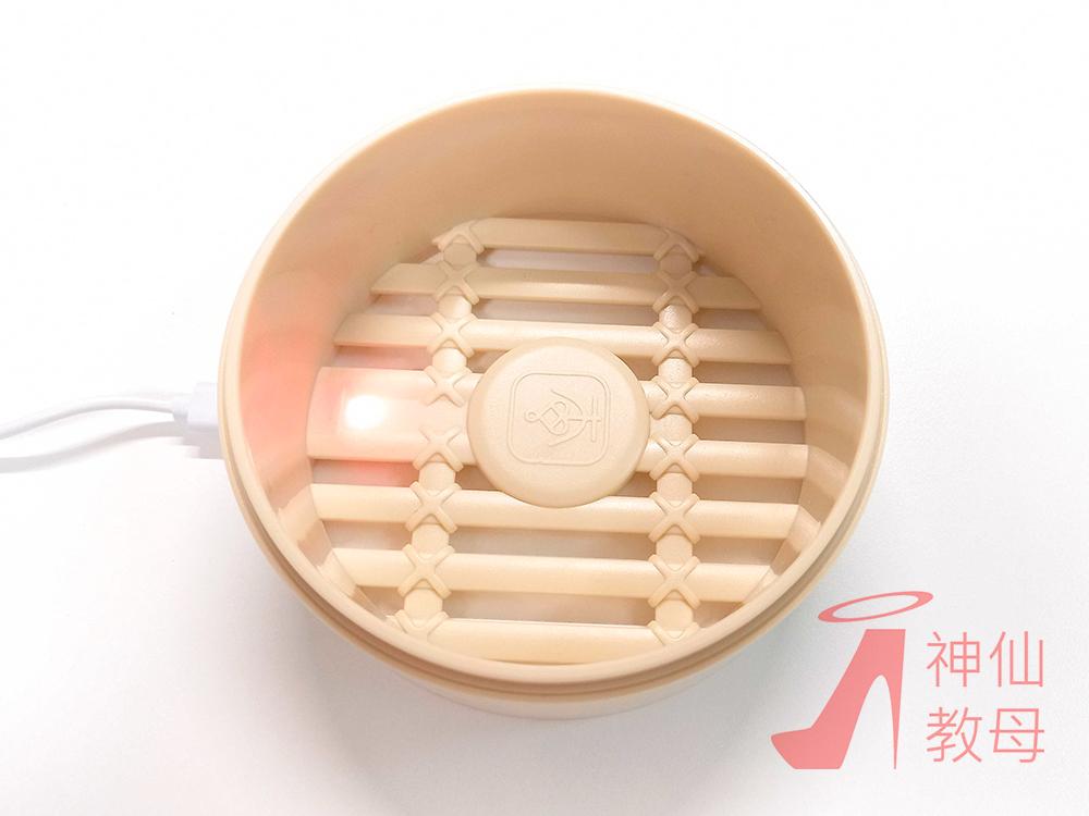 【鹹濕開箱】超萌情趣小物 《小包仔》聲波吸吮器!可愛小籠包幫妳溫水煮濕鮑!