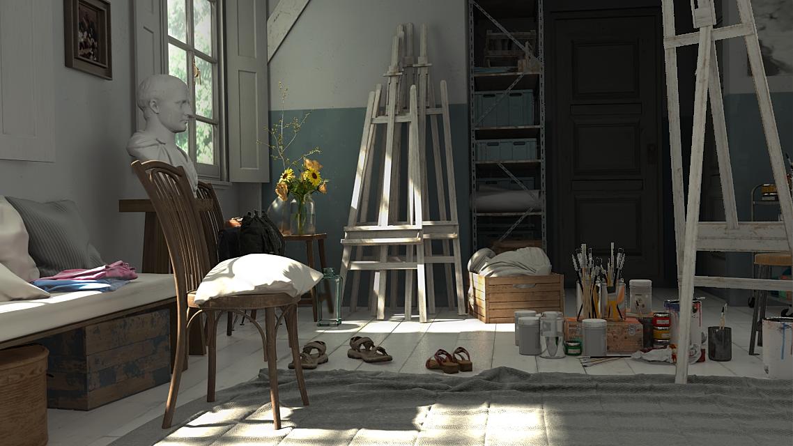 更多3D十八禁遊戲搬上Steam!開發中新作《秘密畫室》當畫師與美少女Play!