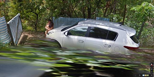【野外車震】Google Map地圖街景捕捉「野戰男女」:人在做谷哥在看!