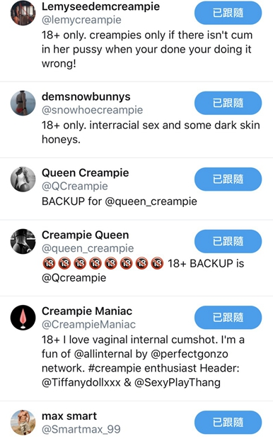揮淚砍Tumblr《老司機轉戰Twitter飆車》這裡有一批「色色推特帳號」大放爽!