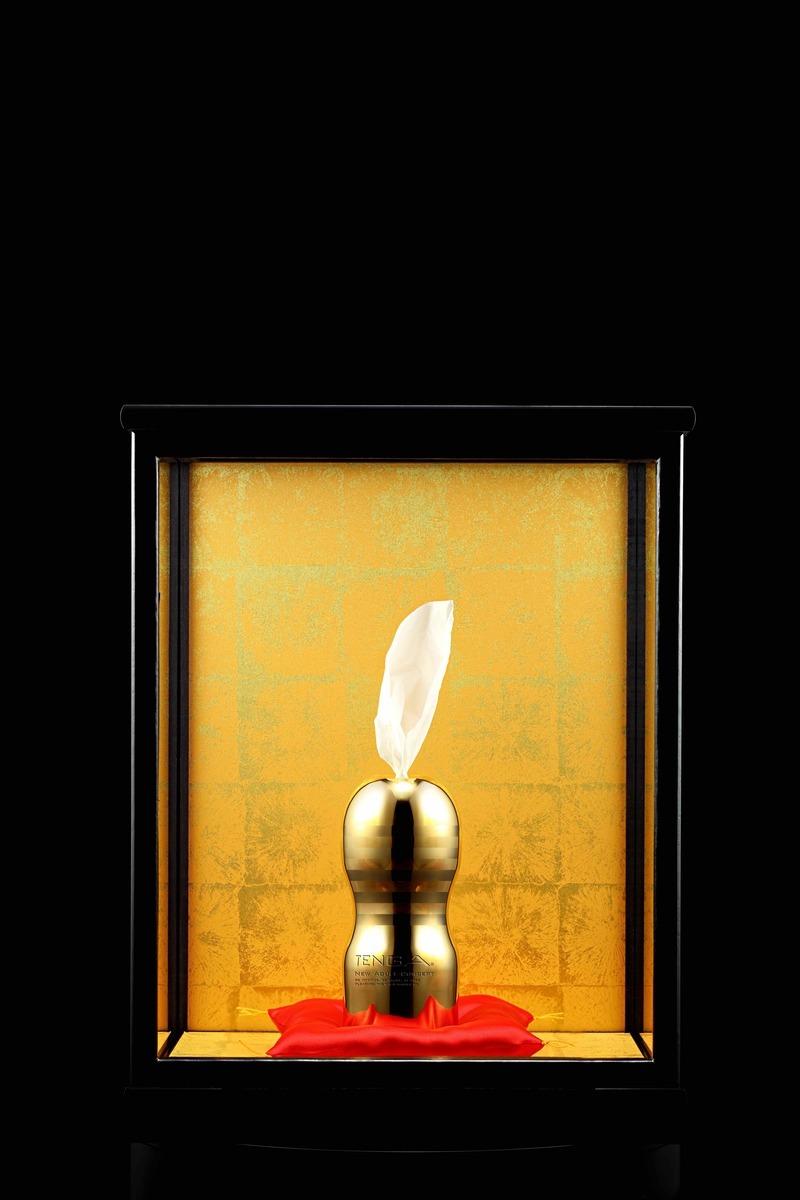 99.9純金打造!TENGA《黃金飛機杯》價值1000萬只送不賣!