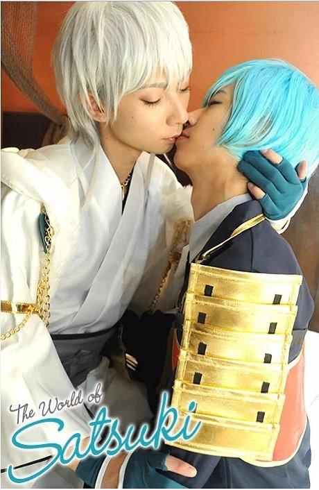 GV男優《SATSUKI》cosplay超吸精,「刀劍亂舞」BL直擊妳的心♥