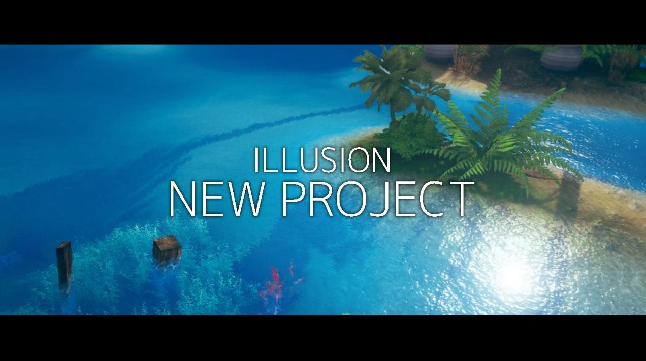 幻影社ILLUSION新作《Project I》預告公開!體驗與美少女在無人島共同生活!