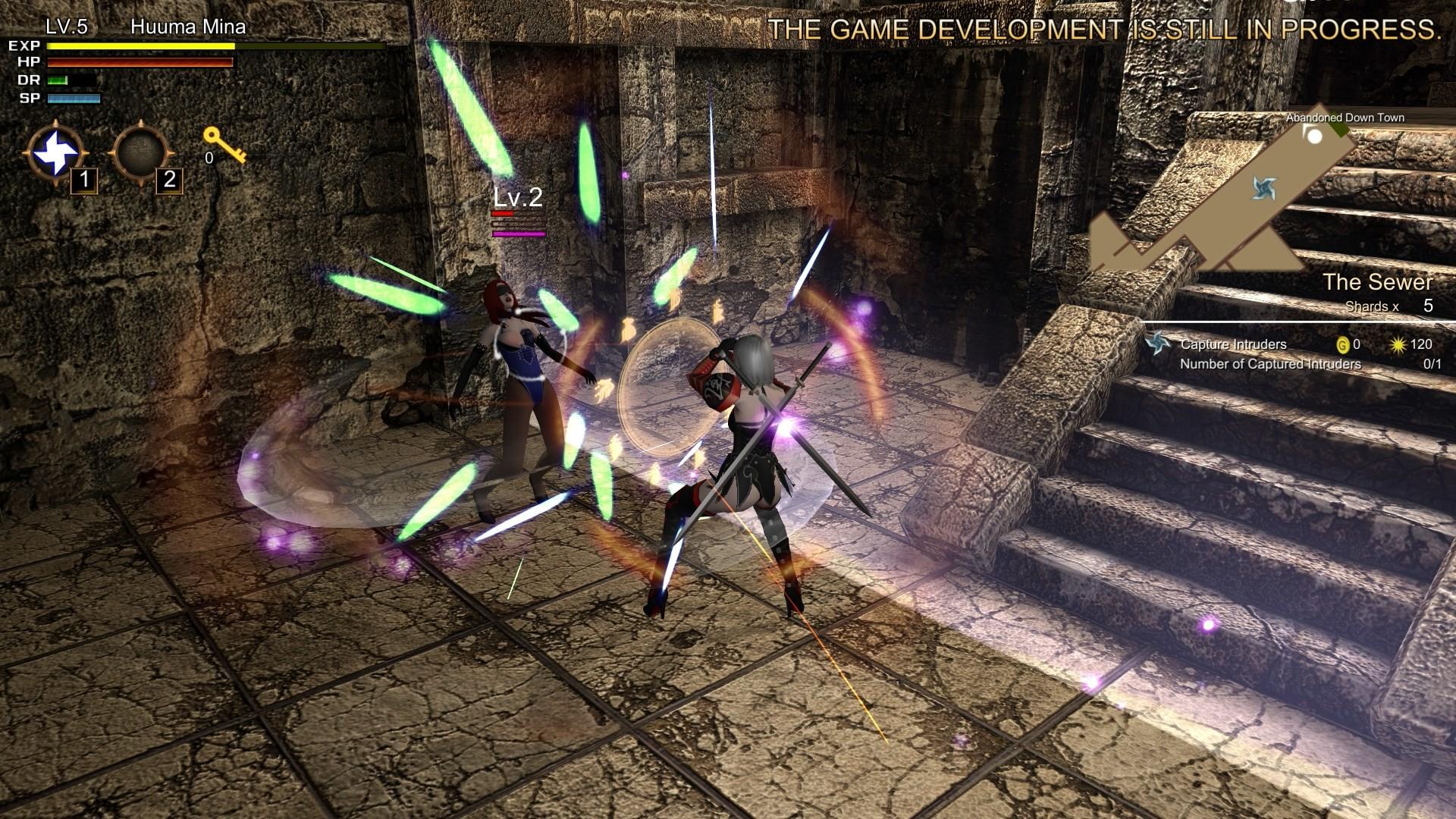 18禁砍殺遊戲《風魔米娜》上架Steam!追加露點DLC還有彩蛋「韓四掌」!