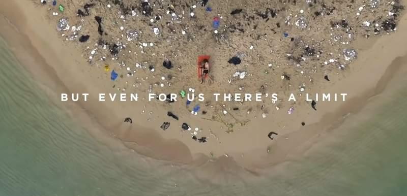 【影片】愛愛做環保!Pornhub《史上最鹹濕海灘A片》每刷1次就斗內!