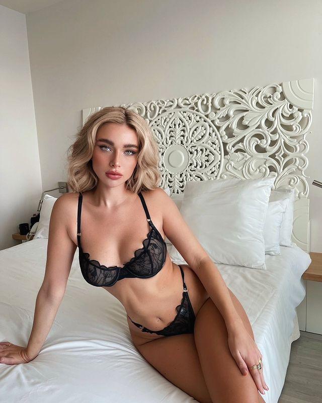 時尚也能辣!德國名模《Antonia Freya Lydia》性感露點也是「精品」等級!