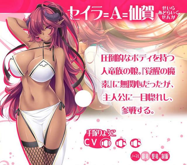 異種族18禁遊戲《Love×Holic 》,各種屬性的巨乳美少女任你挑選!
