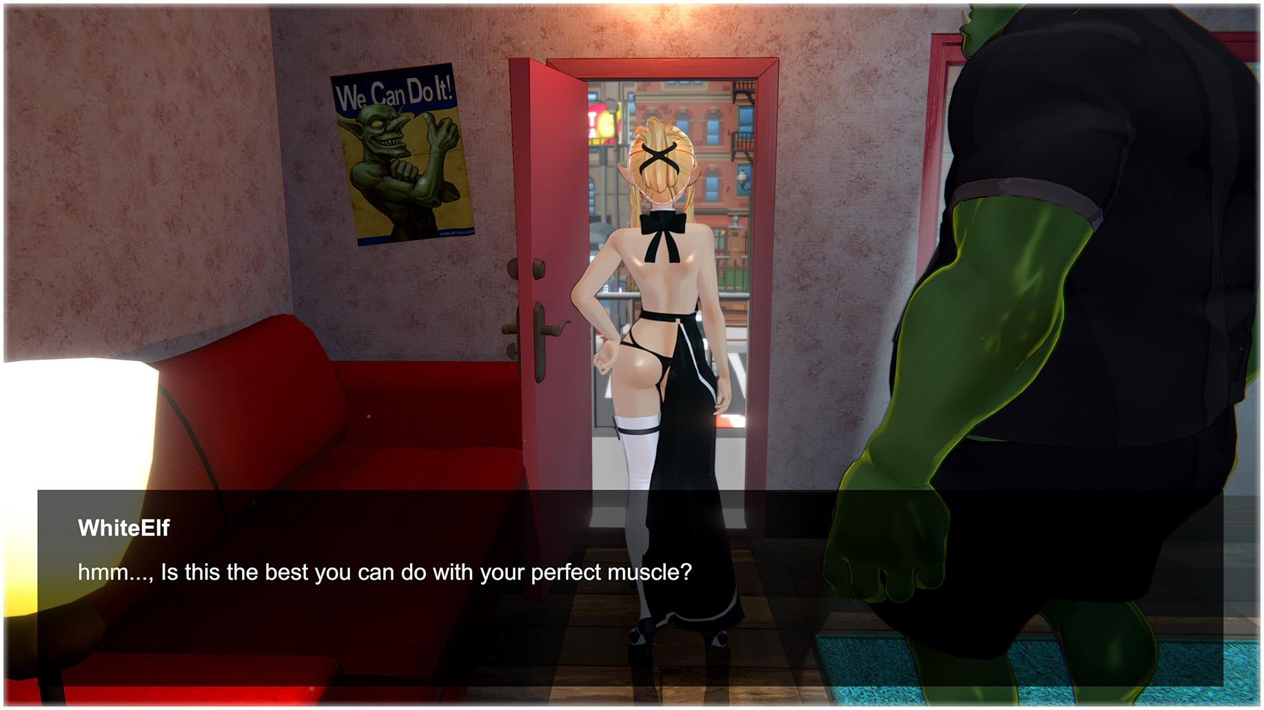 國產18禁遊戲《獸人按摩店》預計登上Steam!幫魔物娘馬殺雞順便蕉流蕉流!