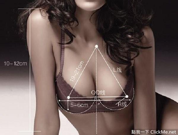 《歐派的說明書》完美歐派是有標準的,還有公式計算妳的完美胸圍!