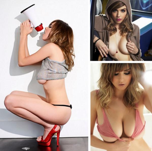 英國「最性感學生妹」Danielle Sharp 南半球特輯!全球最美胸型一戰成名!