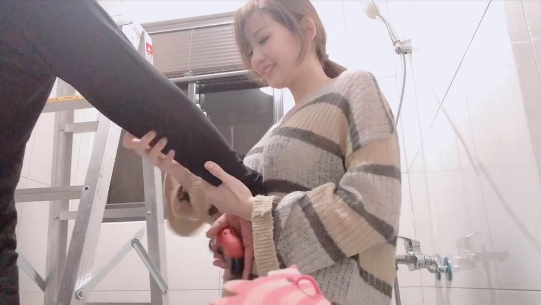 【影片】SWAG主播《小媛ladyyuan》台語勾引水電工「修完燈就修感」用身體付錢!