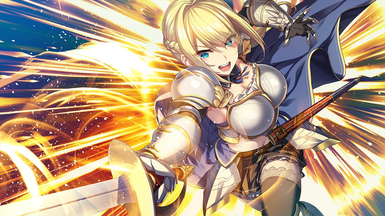 18禁遊戲《KukkoroDays》上架Steam!與異世界轉生女騎士H同居生活!