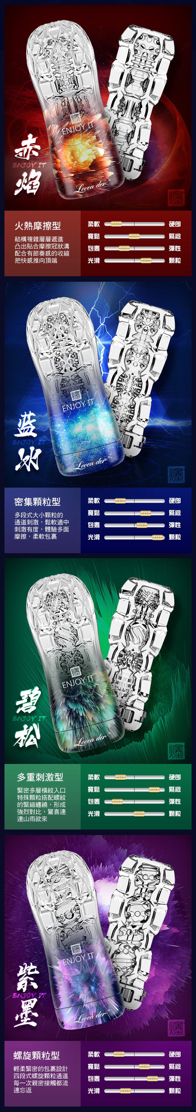 香港邦愛Loveaider.頑爆系列可重覆使用水晶飛機杯-綠色
