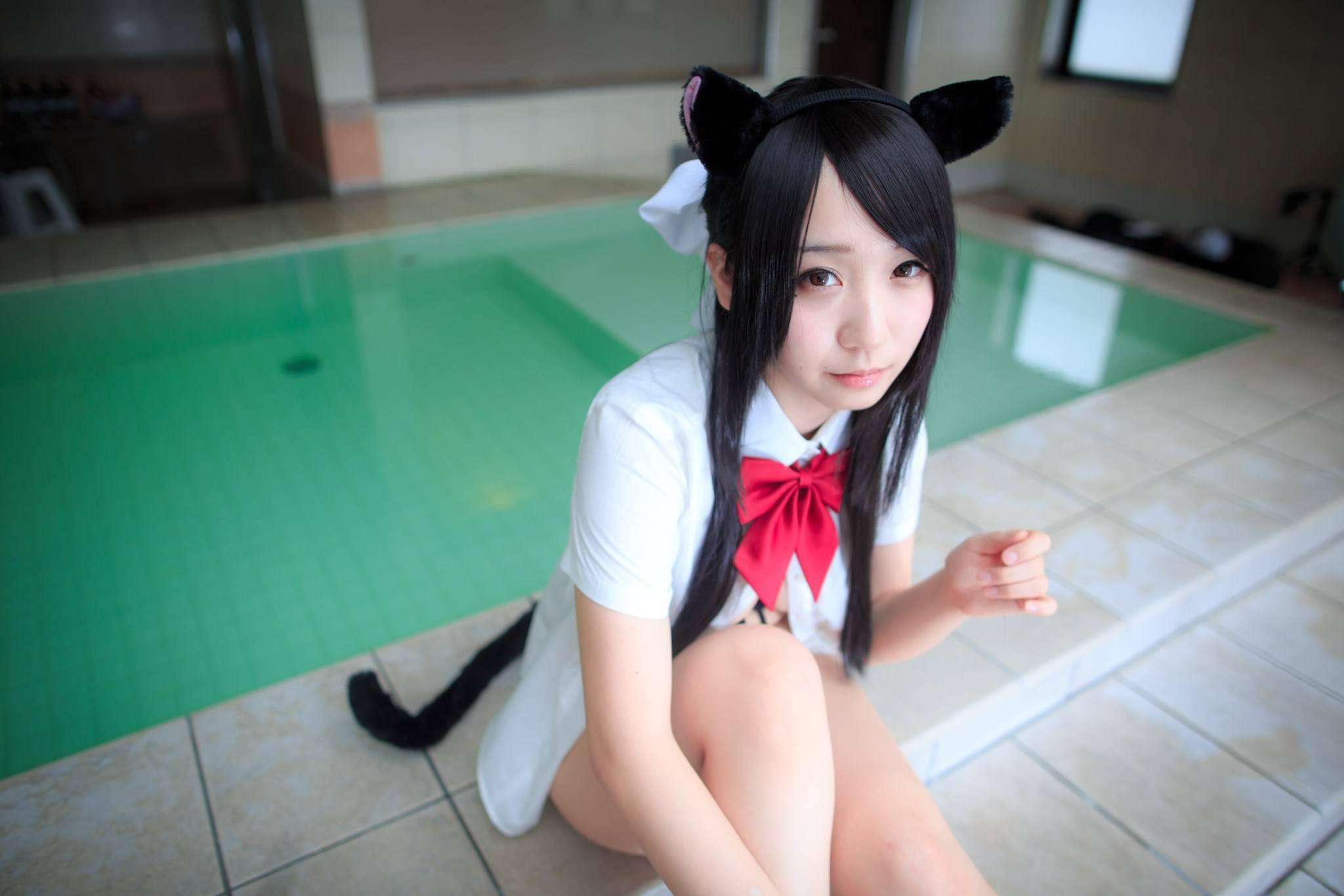 [套圖]美女穿貓咪內衣 C90ROM完成 娜娜與小奧