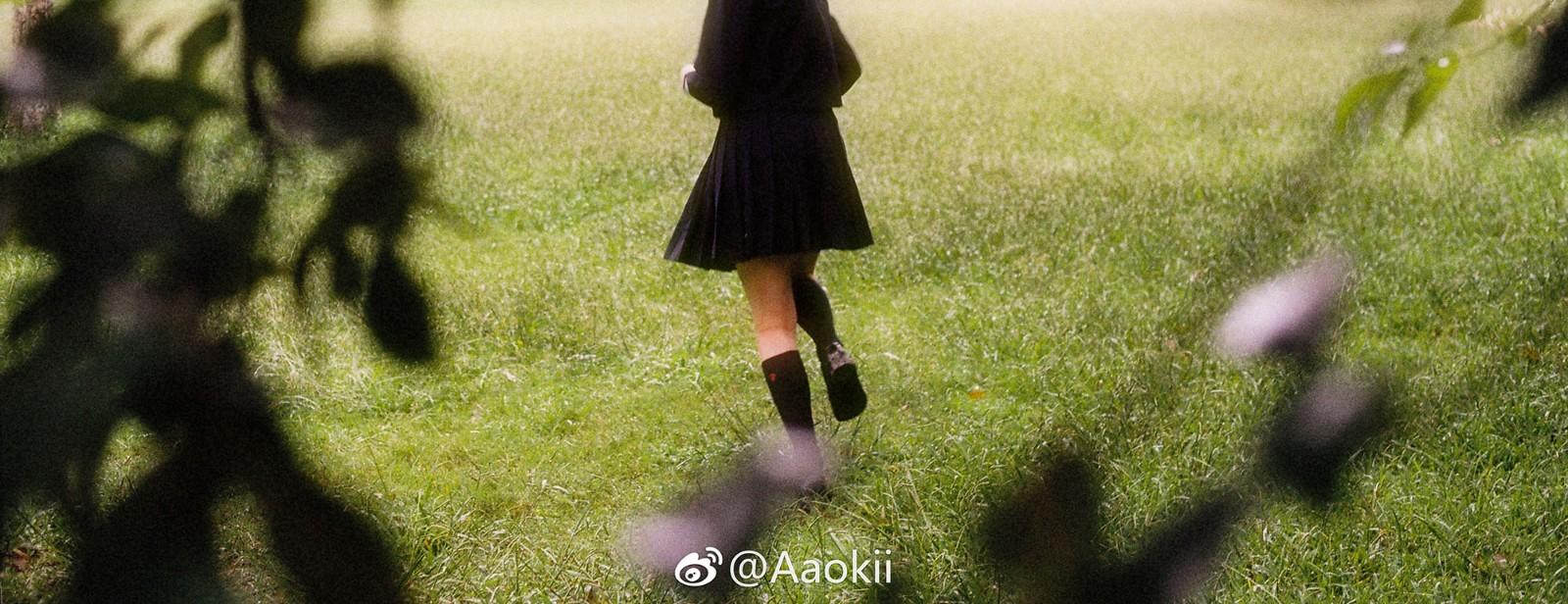 [套圖]日系少女野外寫真