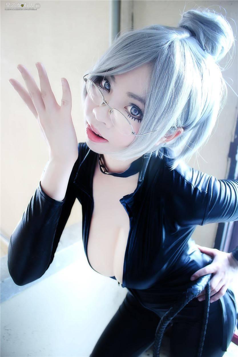 [COS]監獄學園美女cosplay 惹火翹臀+超大歐派超誘惑