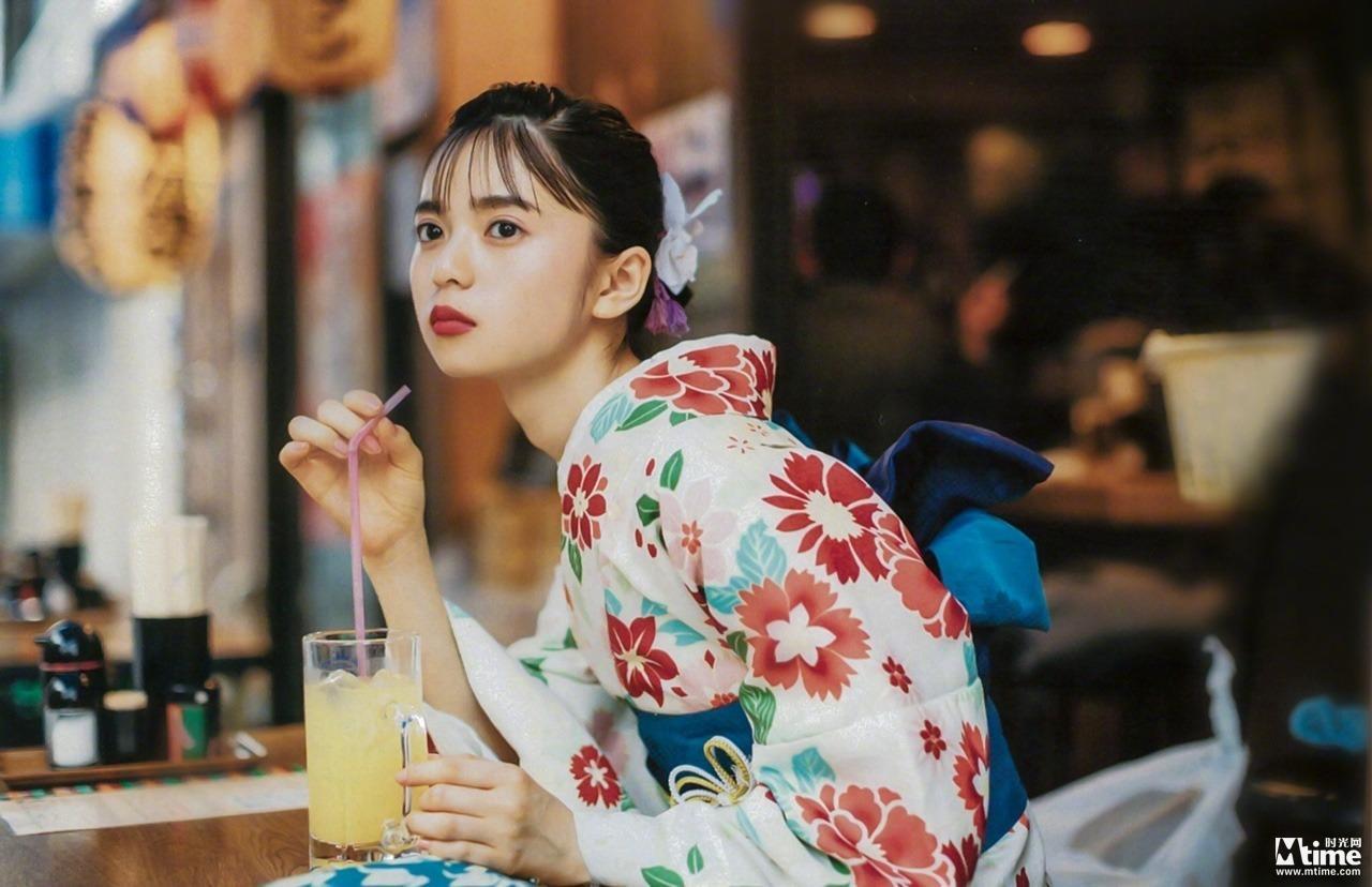[套圖]混血美少女!齋藤飛鳥和服寫真清純動人